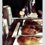 道の駅鳥海の銀カレイとノンアルコールビールでシメ!